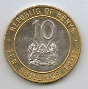 KENYA-10-Shillings-1997-Bimetallic-5-g-23-mm