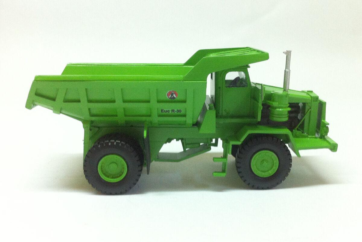 HO 1 87 Euclid R-30 Dumper - Ready Made Resin Modell