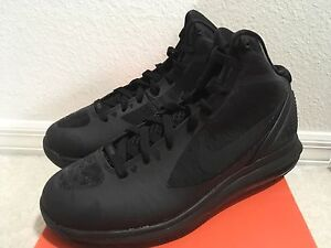 6f336710d29c0 Nike Air Max Hyperdunk 2011 Black Men 469758-002 Sz 9.5 883418215170 ...