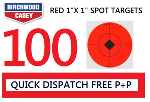 Birchwood Casey Self Adhesive Target Spots AirRifle//Pistol Shooting 10//50//100