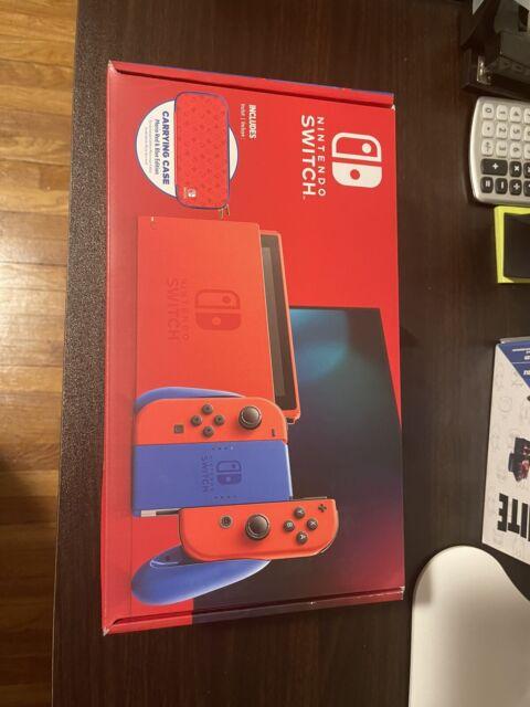 Nintendo Switch  Mario Red & Blue Edition - 32GB Brand New Still Sealed.