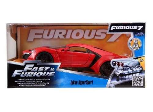 "Jada Toys 97377 Lykan Hypersport 2014 /""Fast and Furious/"" 1:24 NEU OVP"