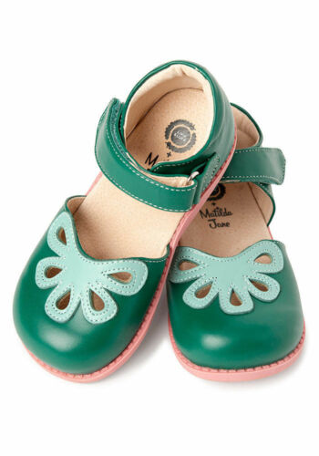 Matilda Jane Livie /& Luca Lucky Clover Petal Shoes Size 1Y 2Y 3Y New In Box