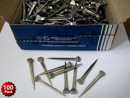 100 Premium Horseshoe Nails Capewell 5 City Stained Glass Lead Project Together