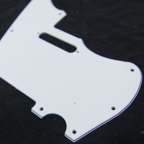 1 pickup telemaster Hybrid Style Guitar Pickguard Jazzcaster 3Ply White