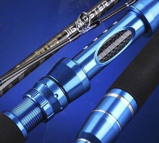 NEW Lurekiller Jig Master Saltwater bluee Jigging Rod 5'11 PE4-6 Retractable Butt