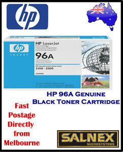 HP-96A-Genuine-Black-Laser-Toner-Cartridge-For-2100-2200-Printers-PN-C4096A