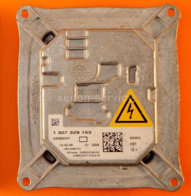 Original Xenon Ballast Balastro Unidad De Control 1307329153 63117182520