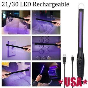 30LED USB Portable UV UVC Sterilize Light Germicidal Lamp Handheld Disinfection