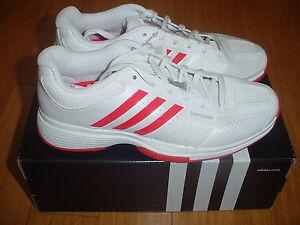 NIB WOMEN'S ADIDAS V20577 ADIPOWER BARRICADE 7 TENNIS SHOES  sneakers reg$125