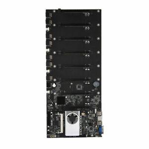 Pro Mining Machine Motherboard 8 GPU Crypto for Btc-37 Ddr3 VGA Fit Bitcoin M1