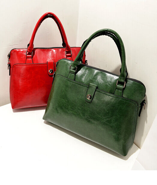 Womens New Handbag Patent Leather Shoulder Bags Ladies Vintage Totes Messenger