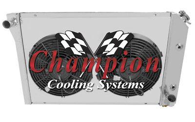 3 Row Aluminum Radiator  For 1977-1982 Chevy Corvette 1978 1979 1980 1981 V8