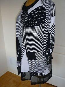 NWT-Artex-Fasions-3-4-kimono-sleeves-long-tunic-sz-1X-20W-md-in-Canada