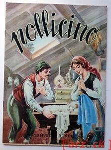 COLLANA-FIABE-Pollicino-EDITRICE-BOSCHI-anni-039-60