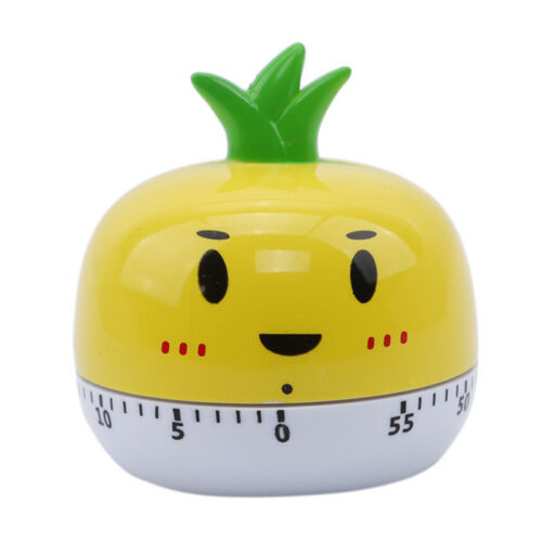Vegetable Carrot Tomato Wind Up Countdown Clockwork 60 Minute Timer Shan
