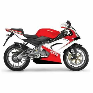 Full-20-Piece-Fairing-Panel-Kit-Gloss-White-Red-For-Aprilia-RS-125-06-11