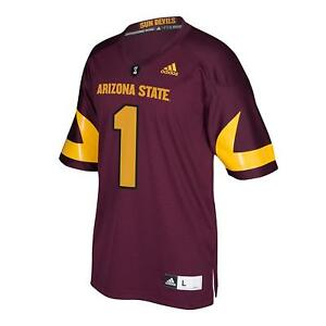 Arizona State Sun Devils NCAA para hombre Adidas Premier camiseta ...