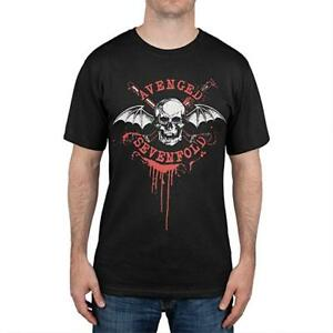 AgréAble Avenged Sevenfold T-shirt Game On Canada Tour 2014 Size L Official Merchandise Moderne Et EléGant à La Mode
