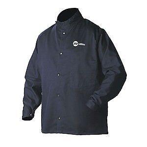 Cotton//Nylon XL Miller Electric 2241909 Welding Jacket Navy