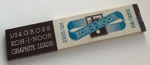 Vintage-Koh-I-Noor-Hardtmuth-Mechanical-Pencil-Graphite-2H-Leads-6-Per-Sleeve