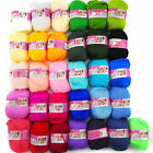 NEW 31colors Soft Bamboo Crochet Cotton 50g Baby Kids Knitting Wool Thick Yarn