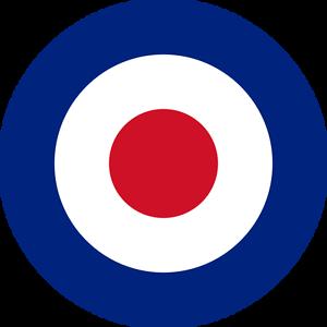 Britannique Raf Cocarde (type D) Extérieur Vinyle Modèle Avion Militaire Avion Autocollant-afficher Le Titre D'origine Djstfbey-07185626-764384850