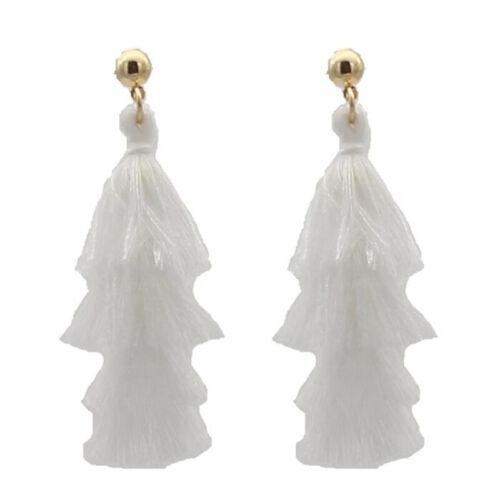 For Women Ladies Stud Earring Drop Earrings Bohemian Delicate Tassel Earrings SM