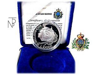 San Marino (iii Millenium 1999) Lire 10.000