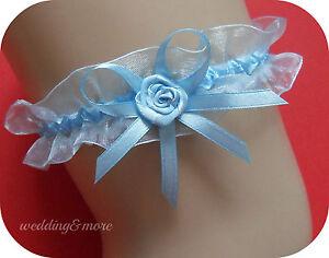 ... was Neues was Blaues blau Hochzeit für die Braut mit Doppelschleife