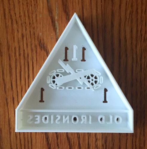 US SELLER!! 1st Armored Division Patch cookie and fondant cutter