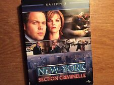 [ New York, section criminelle] Season Saison 3 [6 DVD]Francais Criminal Intent