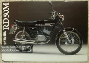YAMAHA-RD50M-MOTORCYCLE-Sales-Brochure-c1978-LIT-3MC-0207094-78E