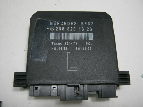 MERCEDES-BENZ  W210 1995-2003 PASSENGER SIDE DOOR CONTROL ECU 136HP 100KW Diesel