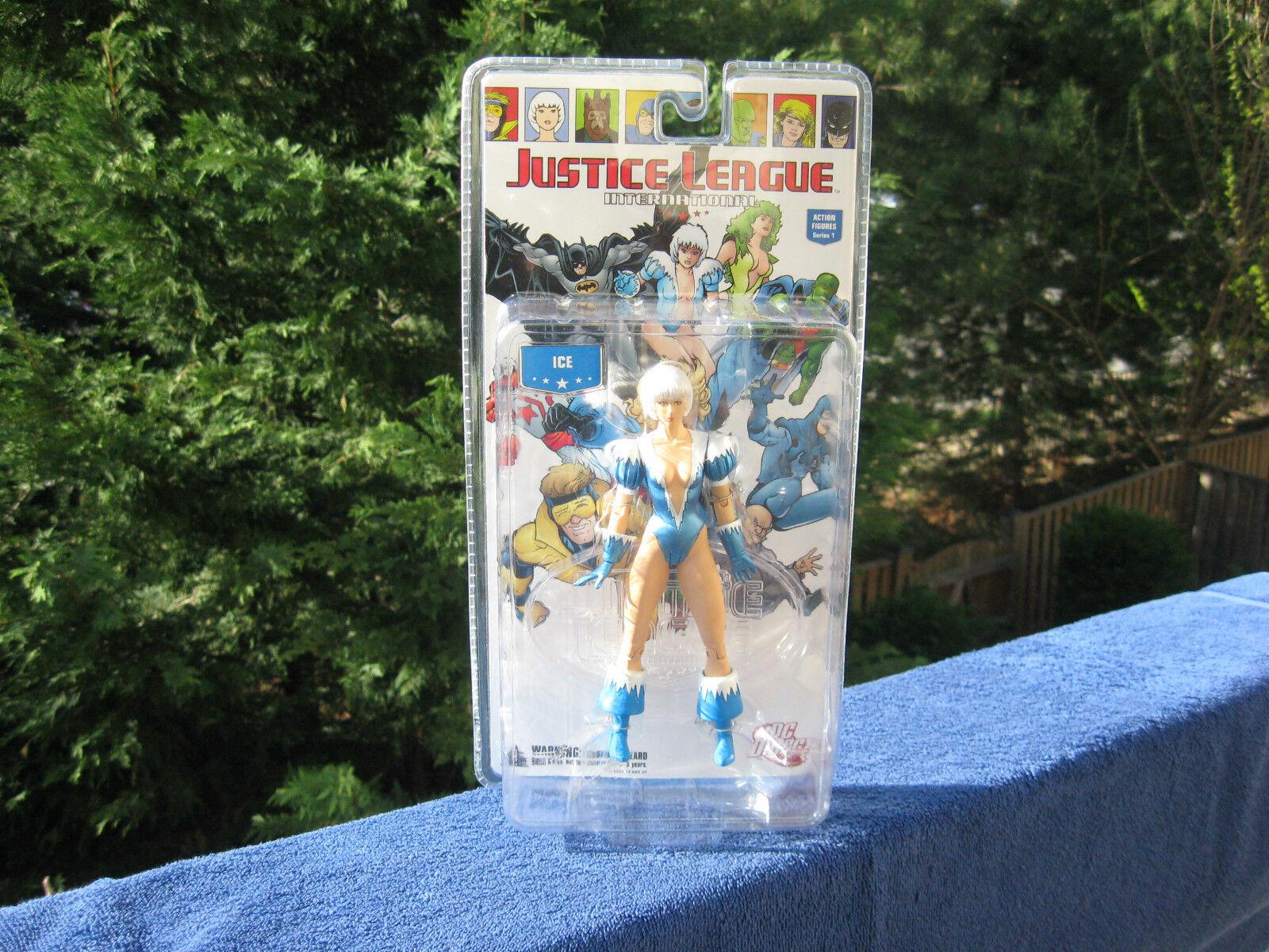 Justice League International ICE 6 1 2  Action Figure Series 1