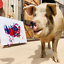 Pigcasso-Painting-Pig-Abstract-Art-Life-Is-Beautiful-Snout-Signed-Ltd-Ed-Print thumbnail 6