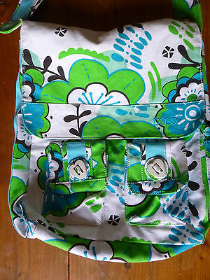Polo Tasche grün weiss blau wenig getragen