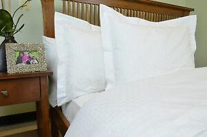 Image is loading Oversized-King-Duvet-Cover-White-Bed-Comforter-Covering-