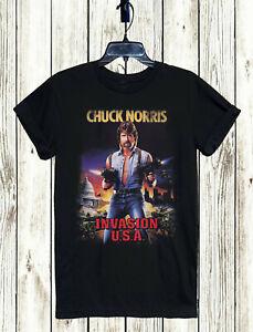 Invasion-USA-Movie-T-Shirt-xs-5xl-Unisex-Versandkostenfrei-Kult-Retro-Chuck-Norris