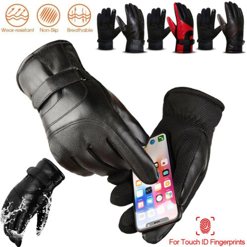 Winter Outdoor Sports Ski Gloves Touch Screen Waterproof Warm Men Women Gloves