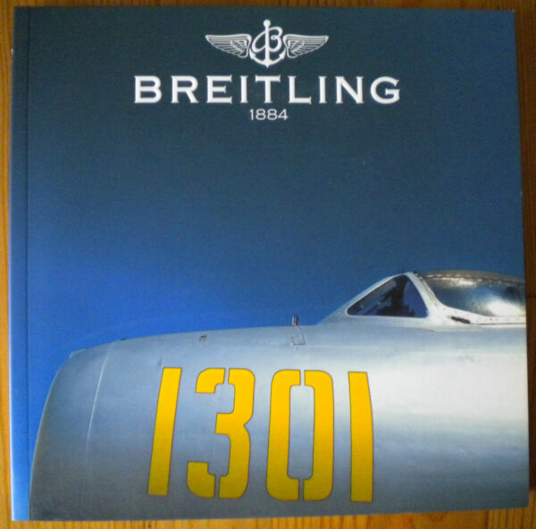 Breitling Katalog Chronolog 2003 Mit Preisliste 2002/2003 Sammlerstück Neu