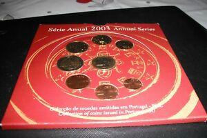 coffret EURO - BU PORTUGAL année 2003, 8 pièces