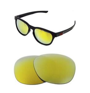 3fc6089044 NEW POLARIZED REPLACEMENT 24k GOLD LENS FOR OAKLEY LATCH SUNGLASSES ...
