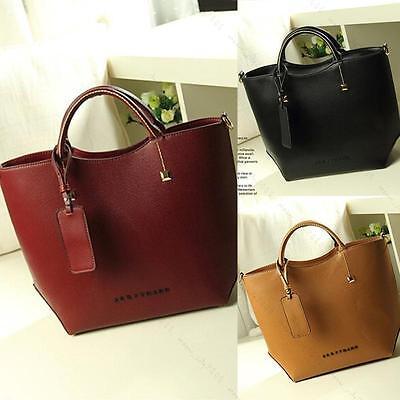 Women Leather Handbag Retro Shoulder Messenger Bag Vintag Fashion Hobo Tote Bags