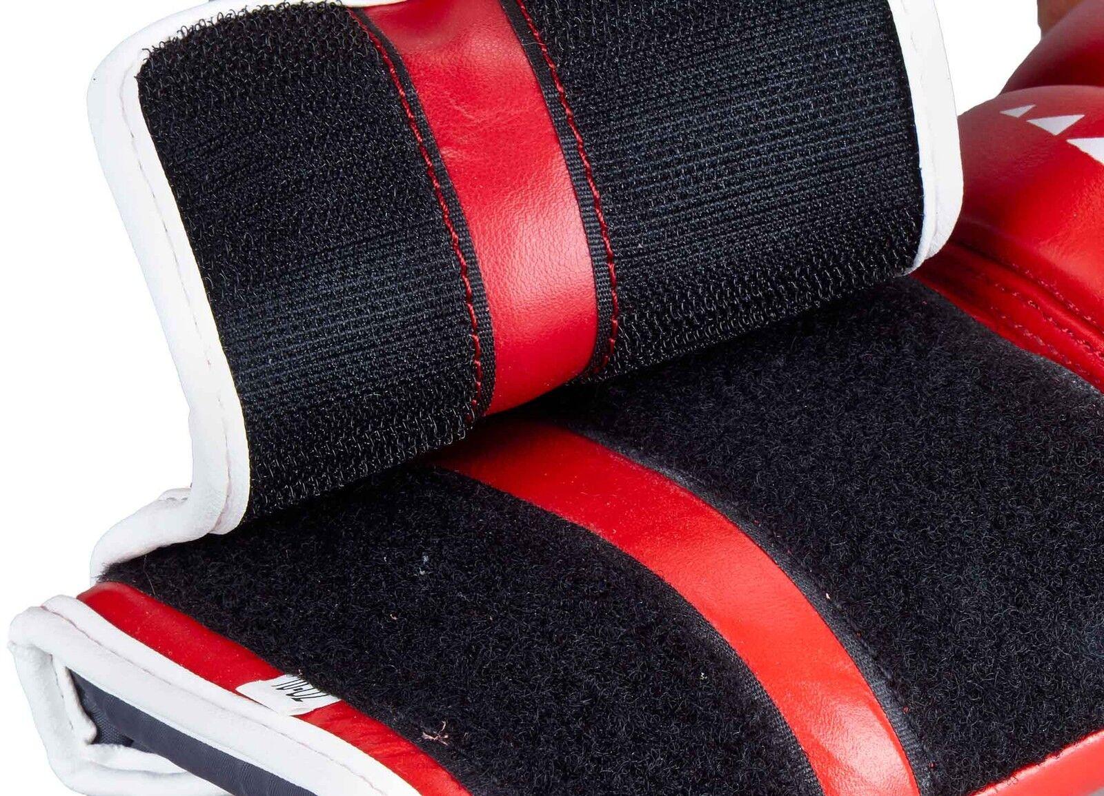 Ju-Sports Boxhandschuh C16 Competitor Leder pro Leder Competitor rot f577dc