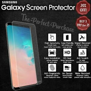 High Quality Tempered Glass Clear Screen Protector For Samsung Galaxy Models!