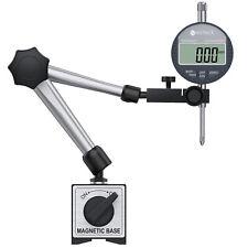 Neoteck Flexible Magnetic Base Holder Stand Set Dial Test Indicator Gauge Tool