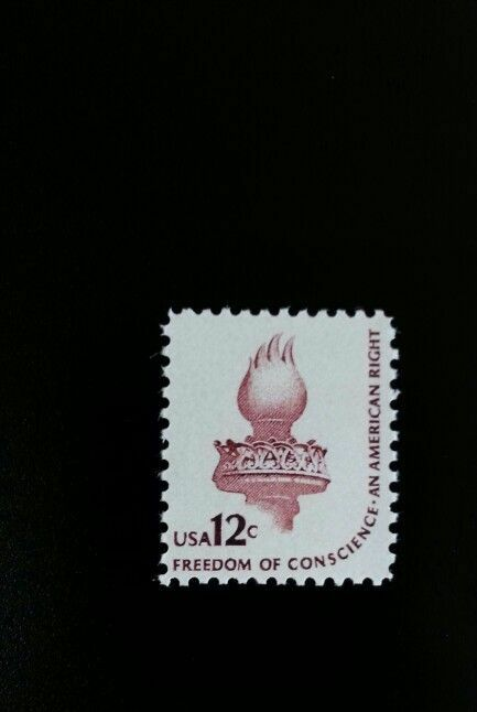 1981 12c Freedom of Conscience, An American Right Scott