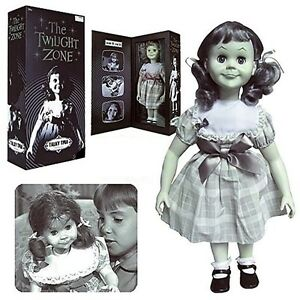 THE-TWILIGHT-ZONE-TALKING-TALKY-TINA-LIVING-DOLL-18-034-FIGURE-PROP-REPLICA-B-amp-W-NEW