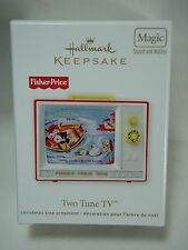 2012 Hallmark Keepsake Ornament Fisher Price Two Tune TV